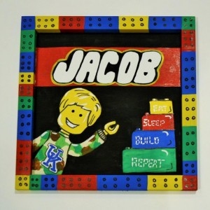 Lego Room Sign