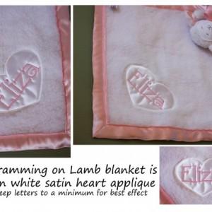 Add Custom Monogramming to your Blanket