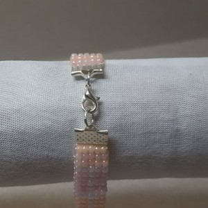 Pink and Orange Gloss Bracelet
