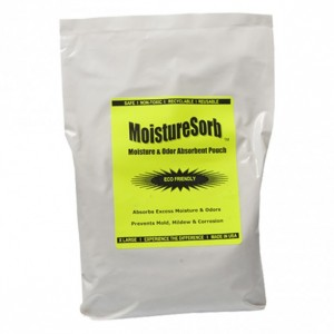 MOISTURESORB Reusable Musty Smell & Moisture Removal Pouch: Stops Stench in 150 Sq. Ft.