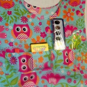 Art Smock - Owls