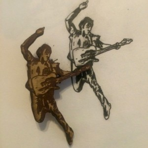 Bruce Springsteen Born In The USA Wooden pin