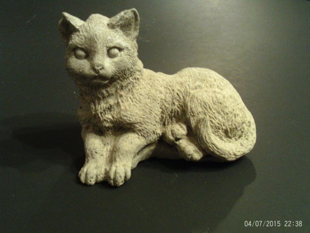 Small Cat Statue