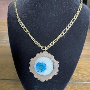 Flower Eyeball Necklace