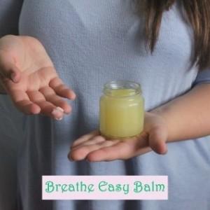 FALL SALE - Breathe Easy Balm