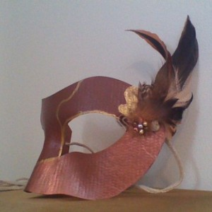 """Metal and Feathers"" Cosplay/Masquerade Mask"