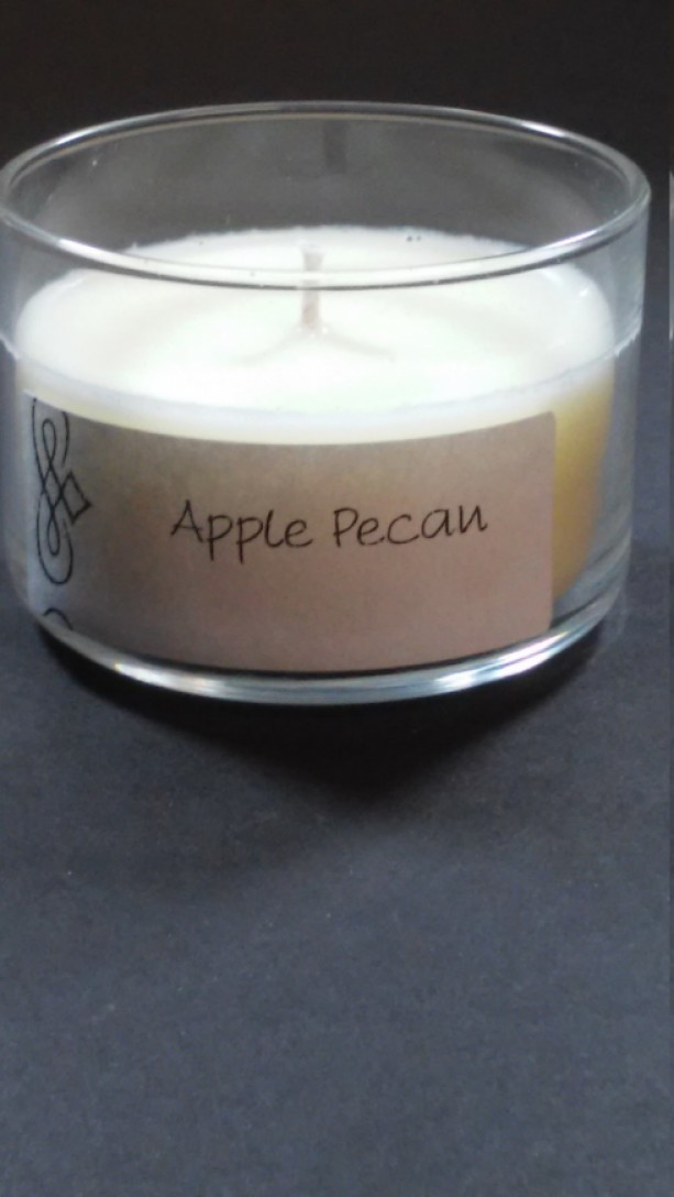 Apple Pecan 4oz Scented Candle by Sweet Amenity Fragrances