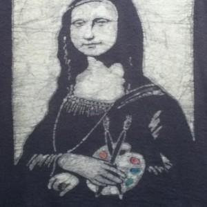 Mona Lisa Custom Batik Tshirt