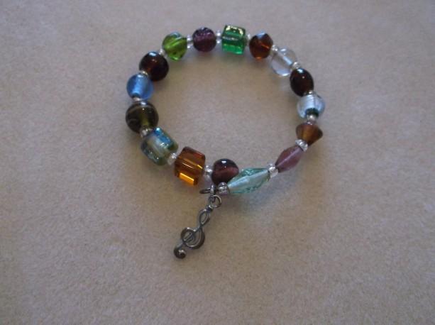 Rondo in Eb Beaded Bracelet