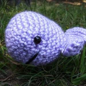 Baby Crochet Amigurumi Whale Plush Toy
