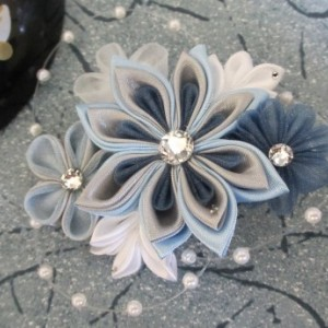 Blue Burst Kanzashi