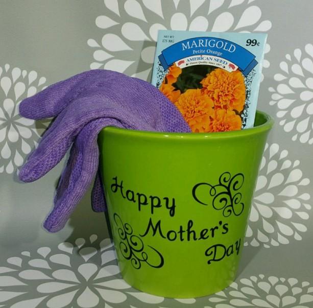 Motheru0027s day flower pot Motheru0027s day gift Personalized flower p & Motheru0027s day flower pot Motheru0027s day gift Personalized flower p ...
