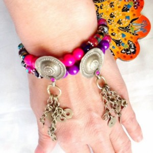 SALE------BELLY DANCE bracelets -Moroccan inspired bracelets -Middle Eastern jewelry -Tribal Kuchi jewelry -Gypsy jewelry