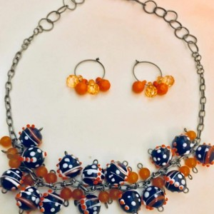 Gator Necklace & Earrings Collection