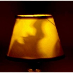 Hand-Painted Bats Mood-Light Bulb