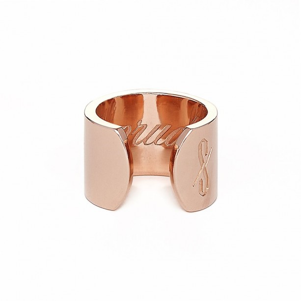 THE PRUDE RING: SOLID 14K ROSE GOLD