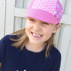 Kid's Hat - The Baseball 6 Cap for Girls - Reversible Cap for Girls - Child Hat