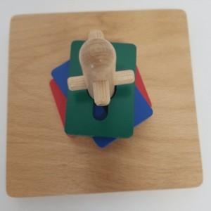Montessori Twist & Sort Puzzle - Toddlers Montessori Sensorial Materials -  TS101