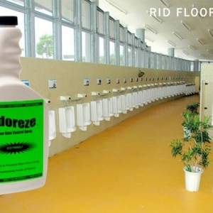 ODOREZE Natural Floor Deodorizer & Cleaner: 32 oz. Concentrate Makes 128 Gallons