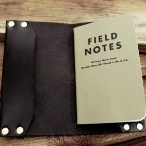 Field Notes Journal Cover