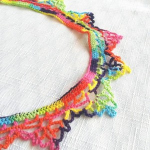 "NeckLACE in Rainbow Splash (17"")"