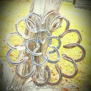 Rustic Horseshoe Wreath , Large Rustic Wreath, Country Homedecor Decor, Handmade Homedecor, custom metal art decor, Western Wreath,Metal art