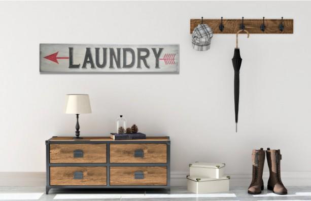 Laundry Sign - Laundry Room Sign - Farmhouse Decor -  Farmhouse Laundry Sign - Laundry Room Decor - Fixer Upper Decor - Wood Laundry Sign