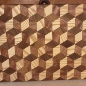 3D Conversation Cutting Board