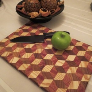 3D Conversation Cutting Board