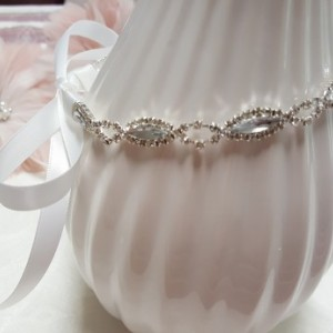 Crystal Rhinestone Headpiece | Bridal Headpiece | New Born baby photo prop