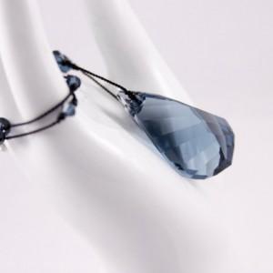 Montana Blue Crystal Necklace