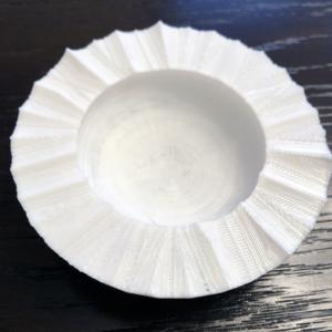 Wavy edge catch- all bowl
