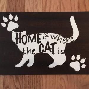 Pet Home Sign