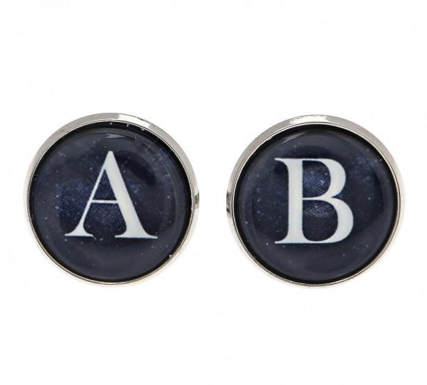 Monogram Cufflinks - Personalized Cufflinks - Initial Cufflinks - Men's Cufflinks - Custom Cufflinks - Men's Accessories - Men's Jewelry