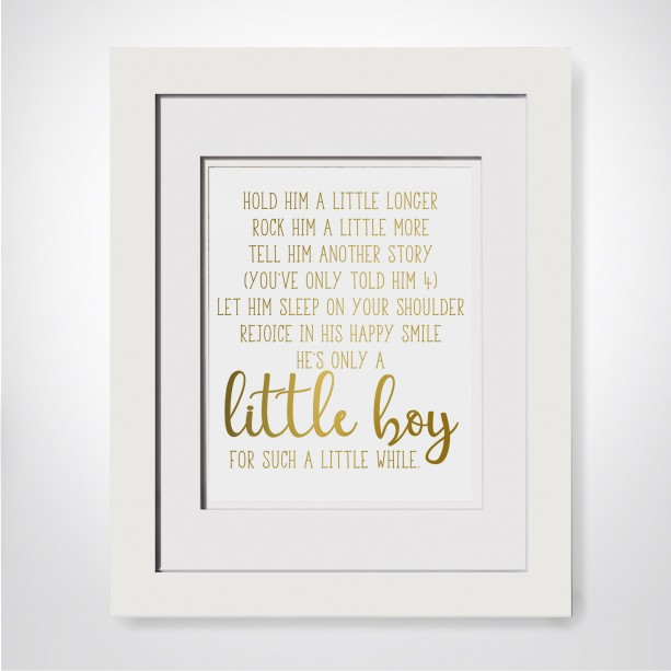 Hold Him A Little Longer, Poem For Godson | aftcra