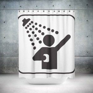 Showertime Shower Curtain