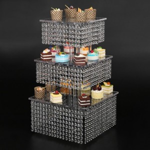 frozen theme Cupcake Stand, 3 Tier Cake Stand Cupcake Tower - Holds 70-90 Cupcakes - Perfect for Weddings, Birthdays, Holidays