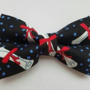 Graduation pet bow tie