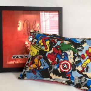 Marvel Cotton Throw Pillow