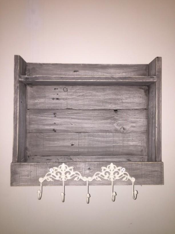 Weathered Grey Shelf