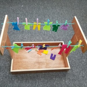 Clothesline Practical Life Activity - CA101