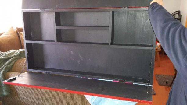 American Flag Gun Safe Gun Cabinet Storage Patriotic