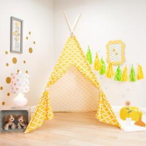 Corn Yellow Kids Teepee