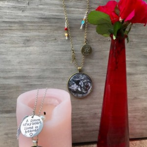 Sonogram, Portrait, Photograph Necklace of baby or loved one: To Celebrate Life or Pregnancy and Infant Loss