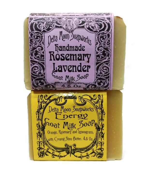 Goat Milk Soap with Rosemary Blends ,Shea Butter Soap, olive oil soap, handmade Goat Milk Soap, essential oil Soap, Dry Skin, sensitive skin