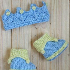 Royal Crown Headband & Booties