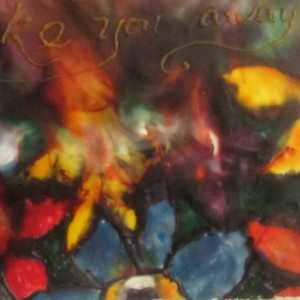 Garden Of Dreams - Abstract Encaustic Modern Wax Art Painting - Free Shipping - 12 x 12