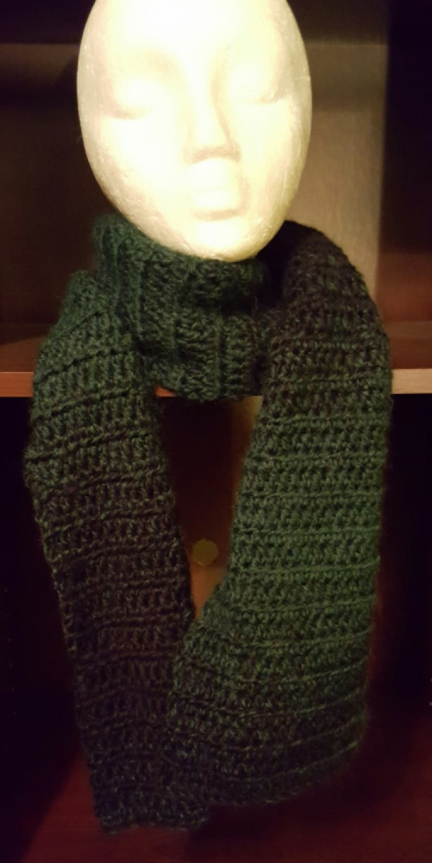 Scarf - Black and Green