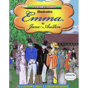 Coloring book of Jane Austen's Emma by U Color Classics LLC ®