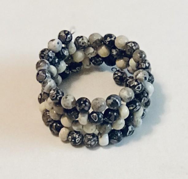 Black Howlite Bracelet